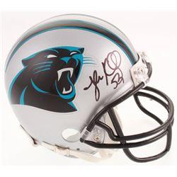 Luke Kuechly Signed Carolina Panthers Mini-Helmet (Beckett COA)