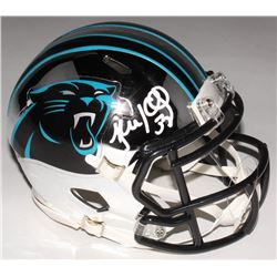 Luke Kuechly Signed Carolina Panthers Chrome Speed Mini-Helmet (Beckett COA)