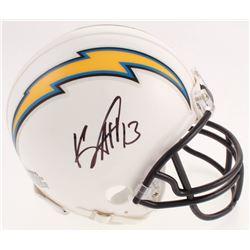 Keenan Allen Signed Los Angeles Chargers Mini Helmet (Beckett COA)