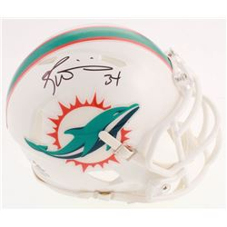 Ricky Williams Signed Miami Dolphins Speed Mini Helmet (JSA COA)