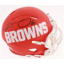 Jarvis Landry Signed Cleveland Browns AMP Alternate Speed Mini Helmet (JSA COA)
