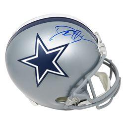 Deion Sanders Signed Dallas Cowboys Full-Size Throwback Helmet (Schwartz COA)