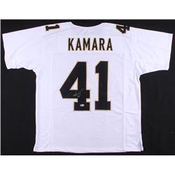 Alvin Kamara Signed Jersey (Beckett COA)