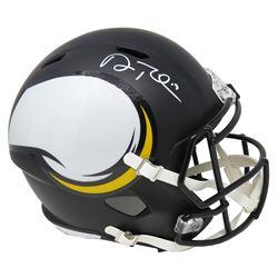 Adam Thielen Signed Minnesota Vikings Full-Size AMP Alternate Speed Helmet (Schwartz COA)
