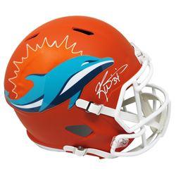 Ricky Williams Signed Miami Dolphins Full-Size AMP Alternate Speed Helmet (Schwartz COA)