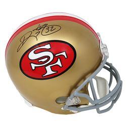 Ricky Watters Signed San Francisco 49ers Full-Size Throwback Helmet (Schwartz COA)