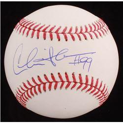 Charlie Sheen Signed OML Baseball (Beckett COA)