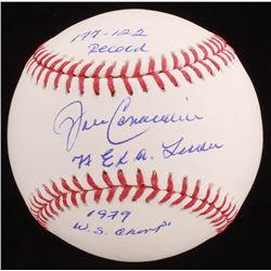 John Candelaria Signed OML Baseball with Multiple Inscriptions (Jersey Source Hologram)