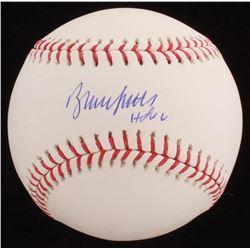 """Bruce Sutter Signed OML Baseball Inscribed """"HOF 06"""" (JSA COA)"""