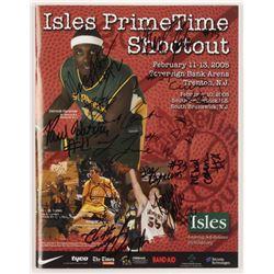 2005 Isles Primetime Shootout Program Signed by (13) with Kevin Durant, Greg Paulus, Brian Zoubek, D