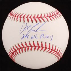 """Dwight """"Doc"""" Gooden Signed OML Baseball Inscribed """"84 NL ROY"""" (JSA COA)"""
