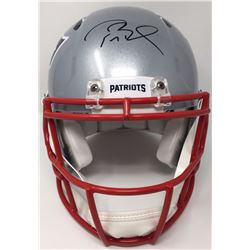 Tom Brady Signed New England Patriots Super Bowl 51 LE Authentic On-Field Speed Helmet (Tristar Holo