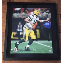Aaron Rodgers Signed Green Bay Packers 24x28 Custom Framed LE Photo (Steiner COA)