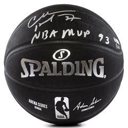 "Charles Barkley Signed LE Basketball Inscribed ""NBA MVP 93"" (Panini COA)"