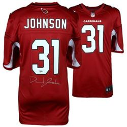 David Johnson Signed Arizona Cardinals Jersey (Fanatics Hologram)