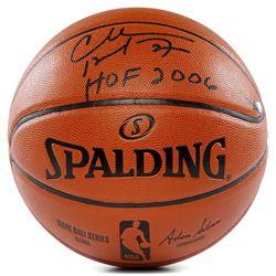 "Charles Barkley Signed NBA Game Ball Series Basketball Inscribed ""HOF 2006"" (Panini COA)"