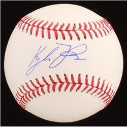 Kyle Tucker Signed OML Baseball (JSA COA)