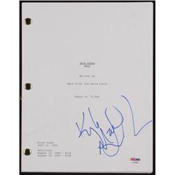 """Kyle MacLachlan Signed """"Twin Peaks"""" Pilot Episode Script (PSA Hologram)"""