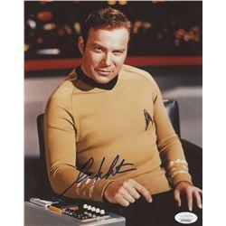 "William Shatner Signed ""Star Trek"" 8x10 Photo (JSA COA)"