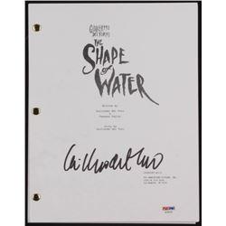 """Guillermo del Toro Signed """"The Shape of Water"""" Movie Script (PSA COA)"""