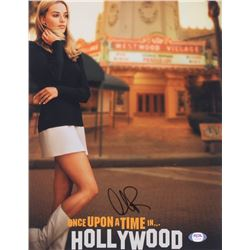 "Margot Robbie Signed ""Once Upon a Time in Hollywood"" 11x14 Photo (PSA COA)"