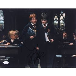 "Daniel Radcliffe  Rupert Grint Signed ""Harry Potter and the Sorcerer's Stone"" 11x14 Photo (JSA COA)"