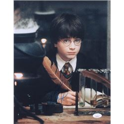 "Daniel Radcliffe Signed ""Harry Potter and the Sorcerer's Stone"" 11x14 Photo (JSA COA)"