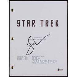 John Cho Signed  Star Trek  Movie Script (Beckett COA)