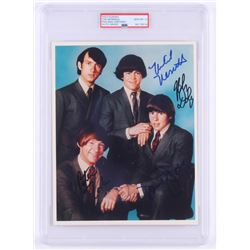 The Monkees 8x10 Photo Signed by (4) with Davy Jones, Peter Tork, Michael Nesmith  Mickey Dolenz (PS