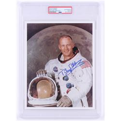Buzz Aldrin Signed NASA 8x10 Photo (PSA Encapsulated)