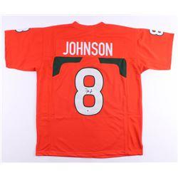 Duke Johnson Signed Jersey (Beckett COA)