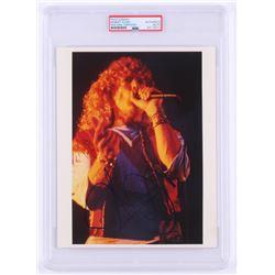 Robert Plant Signed Led Zeppelin 8x10 Photo (PSA Encapsulated)