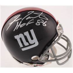 "Fran Tarkenton Signed New York Giants Throwback Mini-Helmet Inscribed ""HOF 86"" (JSA COA)"