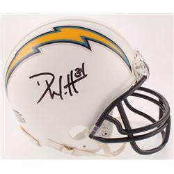 Derek Watt Signed Los Angeles Chargers Mini-Helmet (JSA COA)