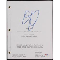 "Gerard Butler Signed ""300"" Movie Script (PSA COA)"