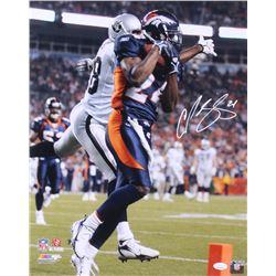 Champ Bailey Signed Denver Broncos 16x20 Photo (JSA COA)