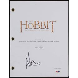 "Aiden Turner Signed ""The Hobbit: An Unexpected Journey"" Movie Script (PSA COA)"