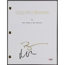 """Matt Damon  Ben Affleck Signed """"Good Will Hunting"""" Movie Script (PSA COA)"""