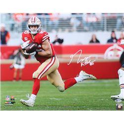 George Kittle Signed 49ers 16x20 Photo (Beckett COA)