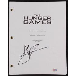 """Josh Hutcherson Signed """"The Hunger Games"""" Movie Script (PSA COA)"""