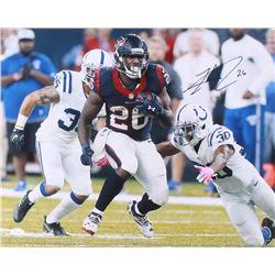 Lamar Miller Signed Houston Texans 16x20 Photo (JSA COA)