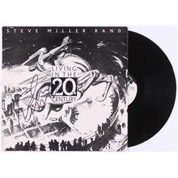 """Steve Miller Signed Steve Miller Band """"Living in the 20th Century"""" Vinyl Record Album (PSA COA)"""