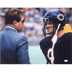 Mike Ditka  Jim McMahon Signed Chicago Bears 16x20 Photo (JSA COA)