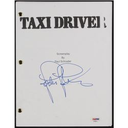 "Jodie Foster Signed ""Taxi Driver"" Movie Script (PSA COA)"