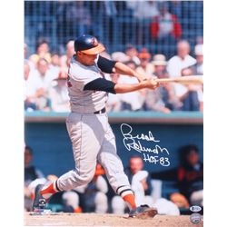 "Brooks Robinson Signed Baltimore Orioles 16x20 Photo Inscribed ""HOF 83"" (Beckett COA)"