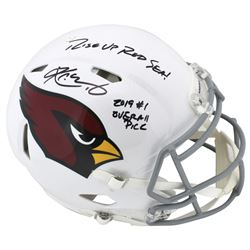 """Kyler Murray Signed Arizona Cardinals Full-Size Authentic On-Field Speed Helmet Inscribed """"2019 #1 O"""