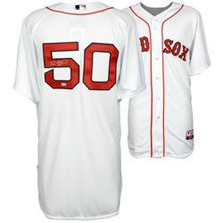 Mookie Betts Signed Red Sox Jersey (Fanatics Hologram  MLB Hologram)