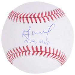 """Jose Altuve Signed Baseball Inscribed """"17 AL MVP"""" (Fanatics Hologram  MLB Hologram)"""