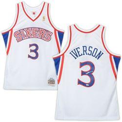 Allen Iverson Signed 76ers Jersey (Fanatics Hologram)
