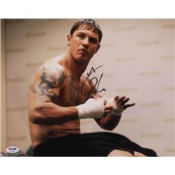 """Tom Hardy Signed """"Warrior"""" 11x14 Photo (PSA Hologram)"""